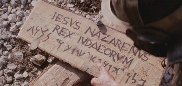 犹太人的王 耶稣(罪牌)